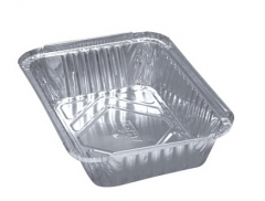 BWHB4133 | No.2/1lb/450ml/8342  Aluminum Foil Container for Food Takeaway Packaging