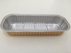 BWATW200A | Oblong Smooth Wall Aluminum Foil Loaf Container for Bread
