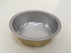 BWATW100D | Color Coated Aluminum Foil Round Container for Bakery