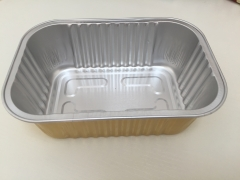 BWATW680A | Colored Disposable Aluminum Foil Cake Container