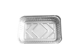 BWHB4153 | 4153 Aluminum Foil Disposable Food Container with PS Lid