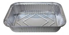 BWSC5516 | Disposable Aluminum Foil Container with Paper Board Lid