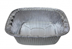 BWSC5510 | 1000ml Full Curl Aluminum Foil Container with Dome Lid