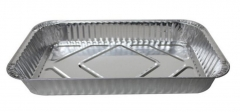 BWSP16020 | Shallow Size Aluminum Foil Container for Disposable Packaging