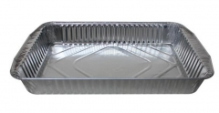 BWSC280040 | Oblong Aluminum Foil Container for Restaurant Packaging