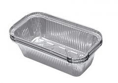 BWSC58085 | Disposable Aluminum Foil Loaf Pan for Bread Baking