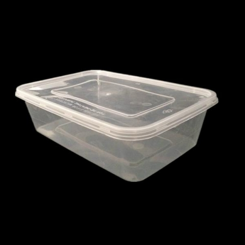 750ml Disposable PP Plastic Container for Food Takeaway