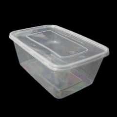 1000ml Food Takeway PP Disposable Container