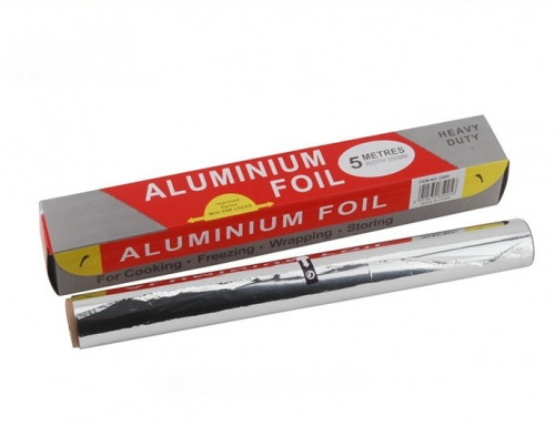 25sq.ft Heavy Duty Aluminum Foil Roll for Food Wrapping