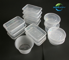 Food Takeaway Disposable PP Plastic Container