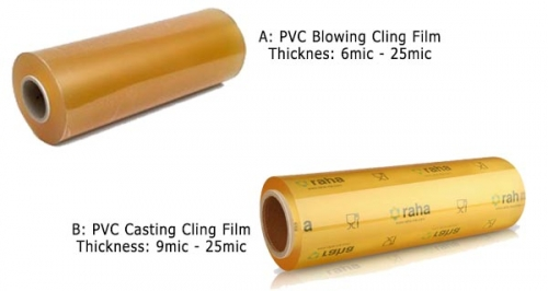 PVC Cling Wrap for Food Wrapping