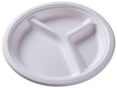 Compartment Round Paper Plate